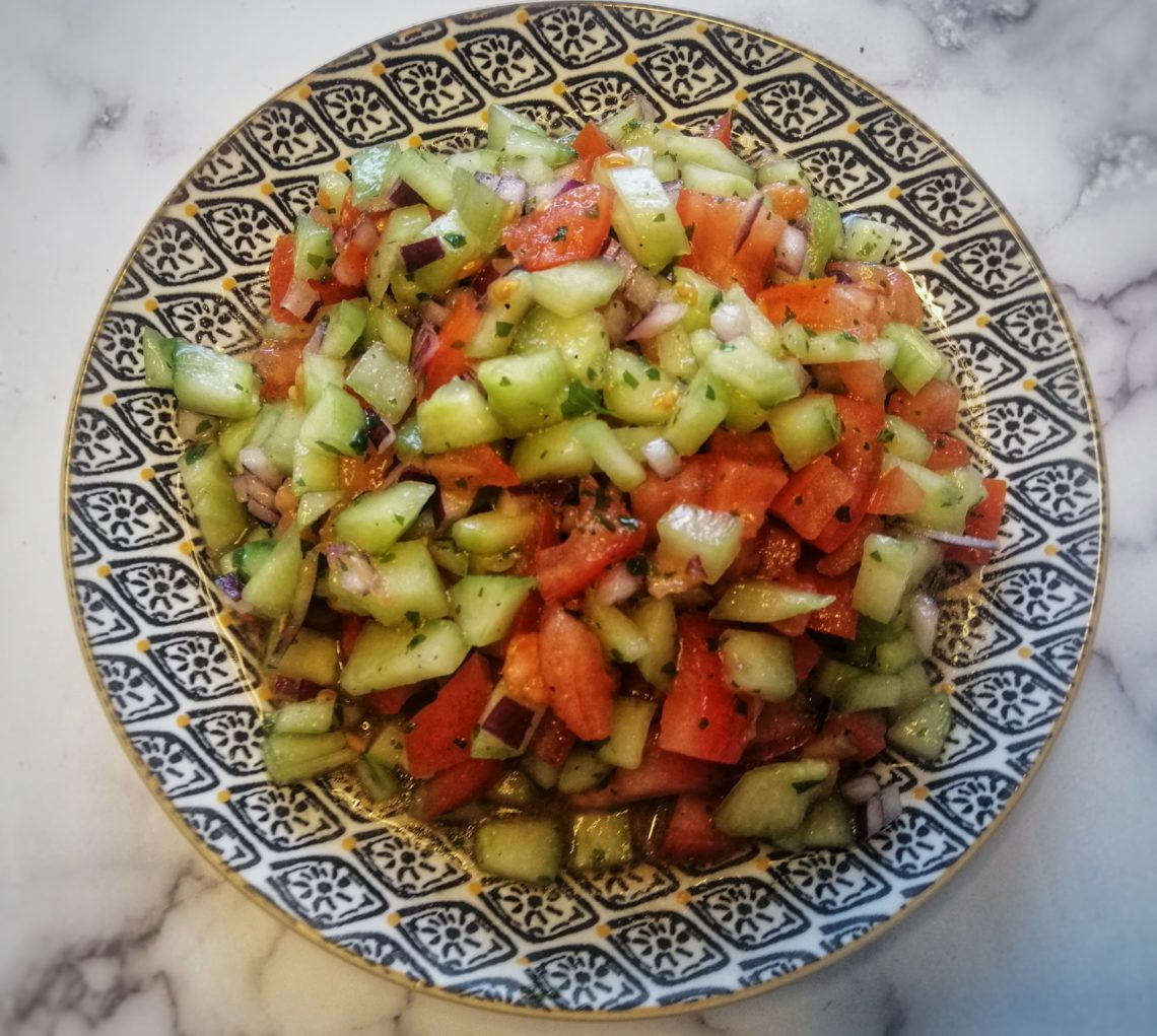 salade tomates concombre