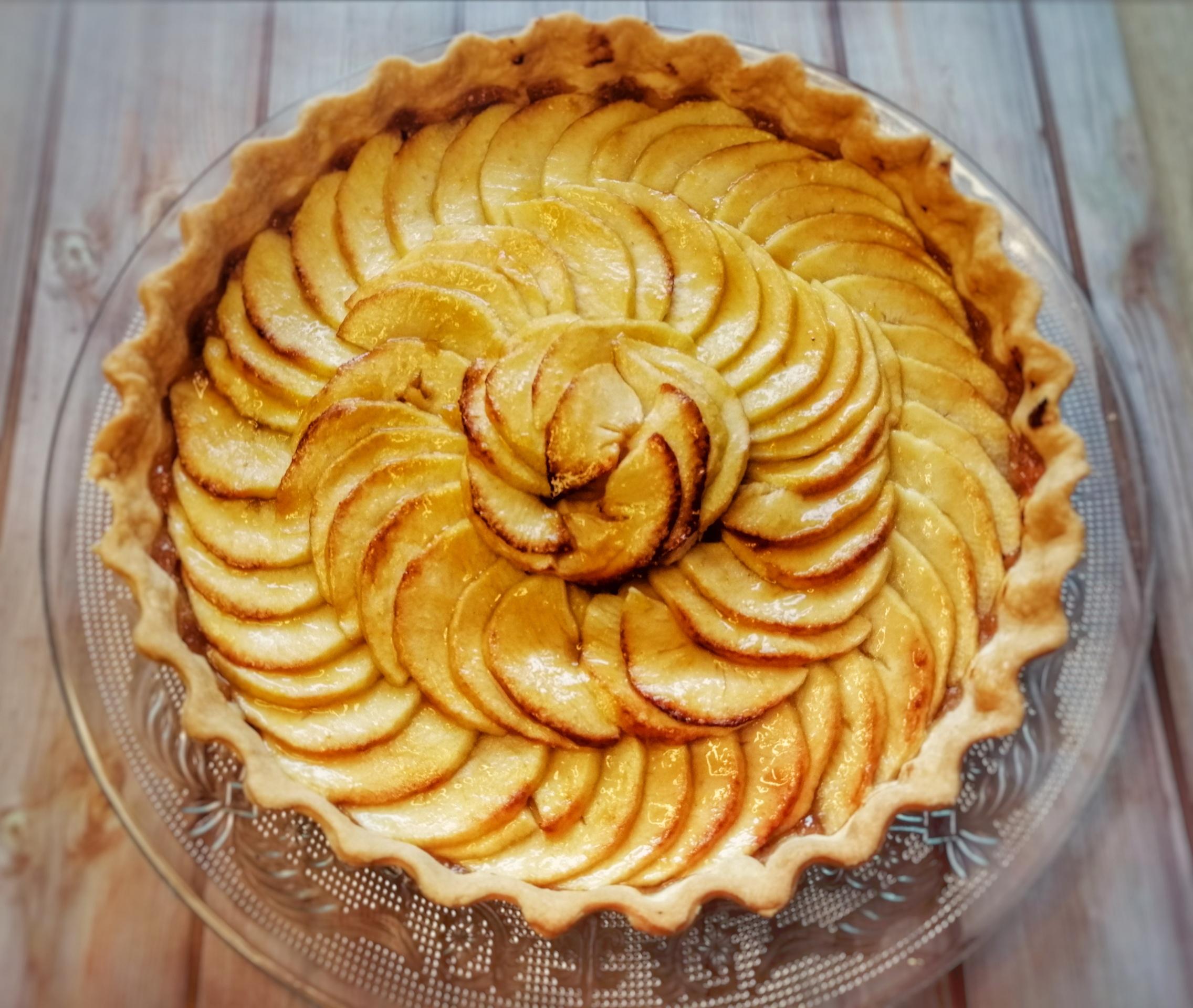 tarte aux pommes pâte brisée