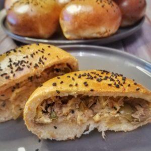 pain farci au thon buns